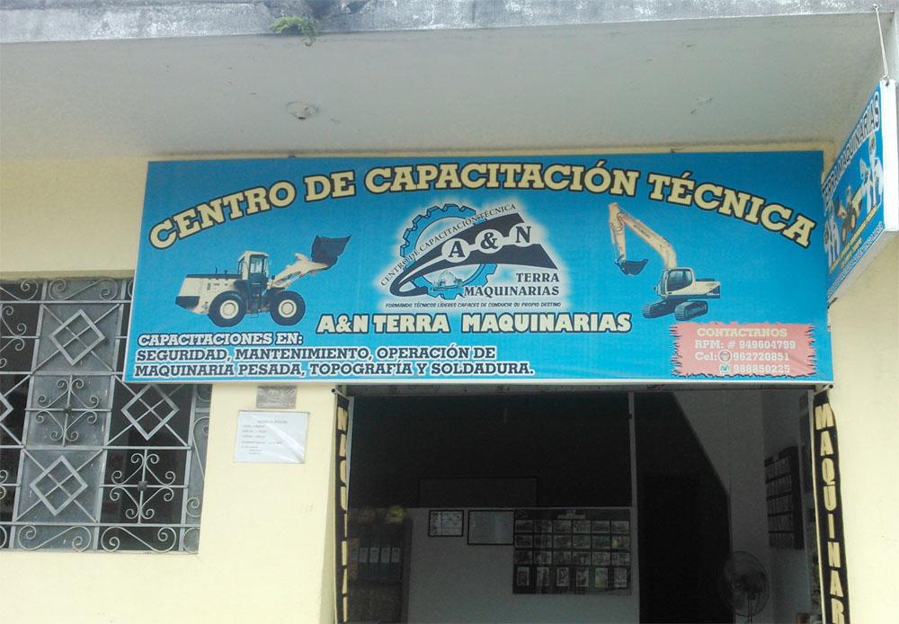 Centro de capacitacion tecnica Terra Maquinarias 2
